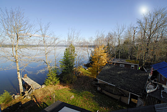 Maine Lakefront property for sale - view